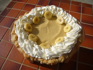 My all time Favorite: Banana Crème Pie
