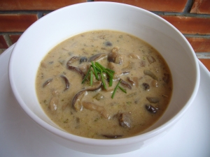 Healthy Cream of Mushroom Soup