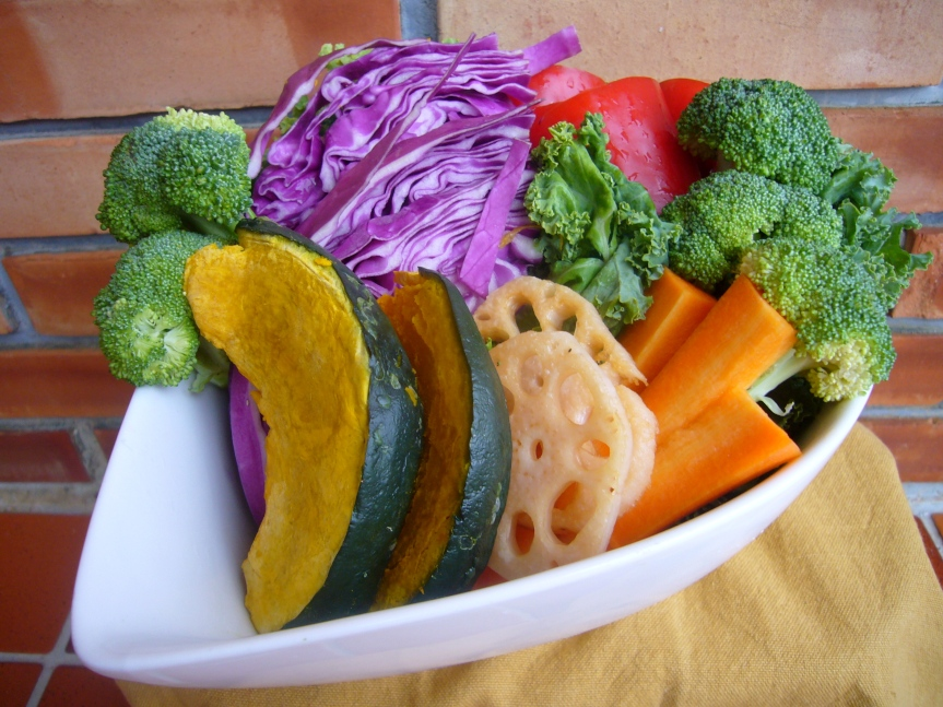Combine colorful combinations to entice little ones into trying new vegetables