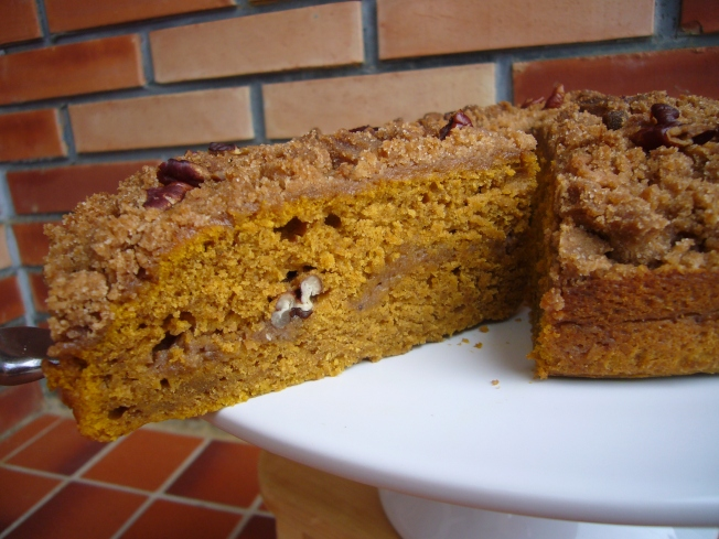 Pumpkin Coffee Cake for  a Crowd